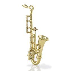 Brosche »Saxophon«