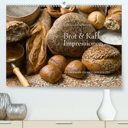 Brot & Kaffee Impressionen 2021 (Premium, hochwertiger DIN A2 Wandkalender 2021, Kunstdruck in Hochglanz) von Gerlach GDT,  Ingo