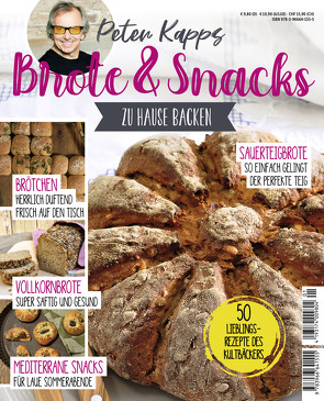 Brote & Snacks zu Hause backen von Kapp,  Peter