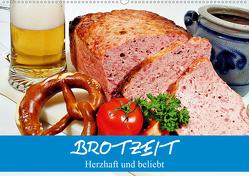 Brotzeit. Herzhaft und beliebt (Wandkalender 2021 DIN A2 quer) von Stanzer,  Elisabeth