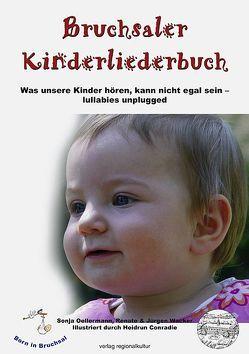 Bruchsaler Kinderliederbuch von Oellermann,  Sonja, Wacker,  Jürgen, Wacker,  Renate