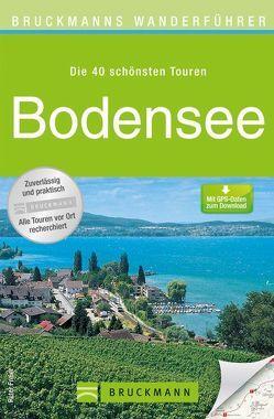 Bruckmanns Wanderführer Bodensee von Freier,  Peter und Ute