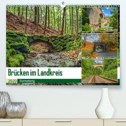 Brücken des Landkreises Sonneberg (Premium, hochwertiger DIN A2 Wandkalender 2020, Kunstdruck in Hochglanz) von HeschFoto