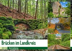 Brücken des Landkreises Sonneberg (Wandkalender 2019 DIN A2 quer) von HeschFoto