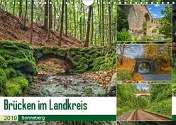 Brücken des Landkreises Sonneberg (Wandkalender 2019 DIN A4 quer) von HeschFoto
