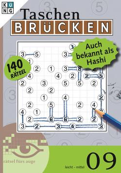 Brücken-Rätsel 09 – Auch als Hashi bekannt