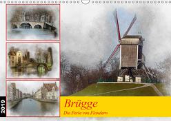 Brügge, die Perle von Flandern (Wandkalender 2019 DIN A3 quer) von Gaymard,  Alain
