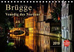 Brügge – Venedig des Nordens (Tischkalender 2019 DIN A5 quer)