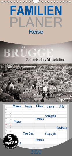 Brügge – Zeitreise ins Mittelalter – Familienplaner hoch (Wandkalender 2020 , 21 cm x 45 cm, hoch) von Mitchell,  Frank