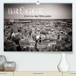 Brügge – Zeitreise ins Mittelalter (Premium, hochwertiger DIN A2 Wandkalender 2020, Kunstdruck in Hochglanz) von Mitchell,  Frank