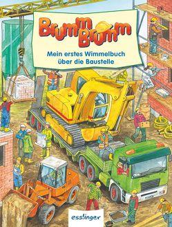 BrummBrumm – Mein erstes Wimmelbuch über die Baustelle – Mini-Wimmelbuch von Wandrey,  Guido