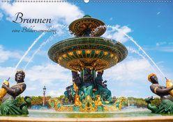 Brunnen – eine Bildersammlung (Wandkalender 2019 DIN A2 quer) von Müller,  Christian