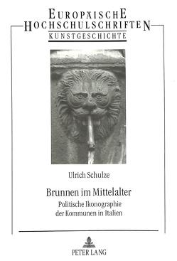 Brunnen im Mittelalter von Schulze,  Ulrich