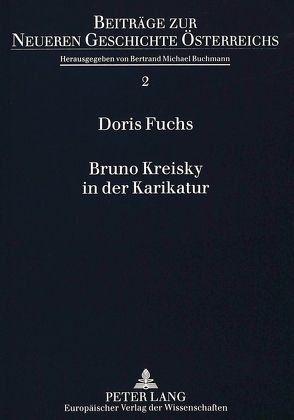 Bruno Kreisky in der Karikatur von Wiesinger,  Doris