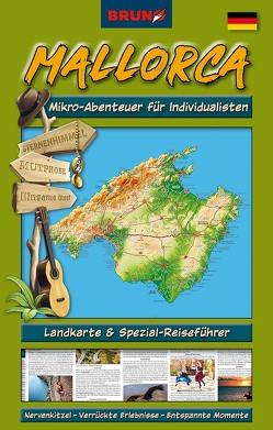 BRUNO Mallorca Landkarte und Reiseführer: Mikro-Abenteuer für Individualisten von Christiane,  Sternberg