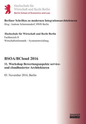 BSOA/BCloud 2016 von Schmietendorf,  Andreas