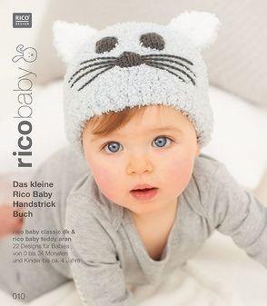 Buch 10 rico baby classic dk/teddy aran Das kleine Rico Baby Handstrick Buch
