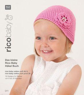 Buch 11 rico baby cotton soft (print) dk  Das kleine Rico Baby Häkel Buch