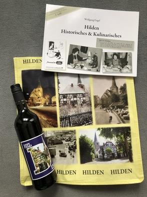 Buch Hilden Historisches & Kulinarisches mit Hilden Wein und Hildentasche