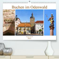 Buchen im Odenwald (Premium, hochwertiger DIN A2 Wandkalender 2021, Kunstdruck in Hochglanz) von Schmidt,  Sergej