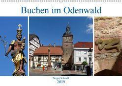 Buchen im Odenwald (Wandkalender 2019 DIN A2 quer) von Schmidt,  Sergej