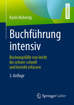 Buchführung intensiv von Nickenig,  Karin
