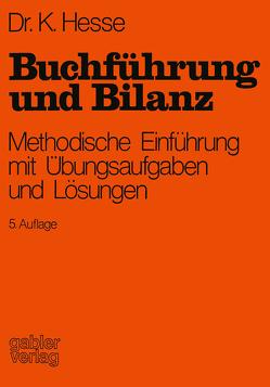 Buchführung und Bilanz von Hesse,  Kurt, Reuter,  Herbert