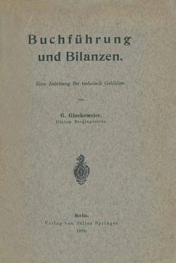 Buchführung und Bilanzen von Glockemeier,  G.