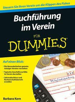 Buchführung im Verein für Dummies von Kern,  Barbara
