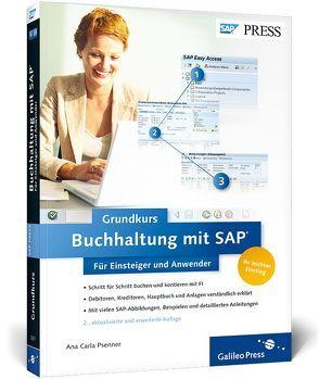 Buchhaltung mit SAP: Der Grundkurs für Einsteiger und Anwender von Psenner,  Ana Carla