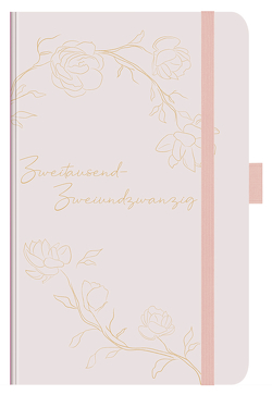 Buchkalender Times Small12 Trend Jasmin 2022 von Korsch Verlag