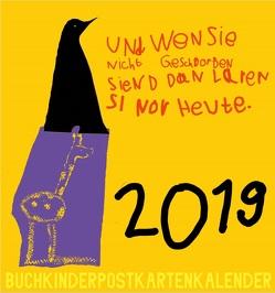 Buchkinder-Postkartenkalender 2019 von Buchkinder Leipzig e.V.