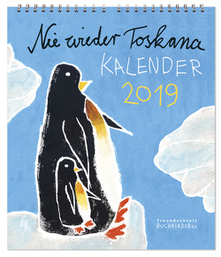 "Buchkinderkalender 2019 ""Nie wieder Toskana"""