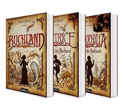 Buchland Band 1-3: Buchland / Beatrice. Rückkehr ins Buchland / Bibliophilia. Das Ende des Buchlands: Die komplette Trilogie (Paperback) von Walther,  Markus