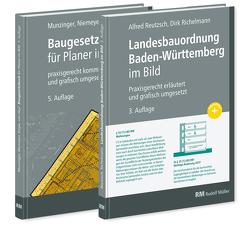 Buchpaket: Baugesetzbuch für Planer im Bild & Landesbauordnung Baden-Württemberg im Bild von Kiepe,  Folkert, Munzinger,  Timo, Niemeyer,  Eva Maria, Reutzsch,  Alfred, Richelmann,  Dirk