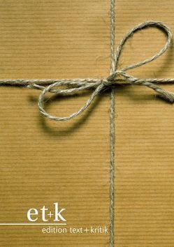 Buchpaket: Edition Gerhard Lamprecht von Aurich,  Rolf, Jacobsen,  Wolfgang, Orbanz,  Eva