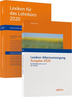 Buchpaket Lexikon für das Lohnbüro und Lexikon Altersversorgung 2020 von Fath,  Ralf, Plenker,  Jürgen, Schönfeld,  Wolfgang, Urbitsch,  Christian