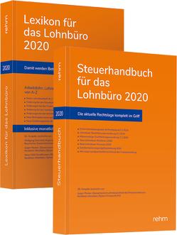 Buchpaket Lexikon für das Lohnbüro und Steuerhandbuch 2020 von Plenker,  Jürgen, Schönfeld,  Wolfgang