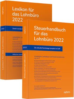 Buchpaket Lexikon für das Lohnbüro und Steuerhandbuch 2022 von Plenker,  Jürgen, Schaffhausen,  Heinz-Willi, Schönfeld,  Wolfgang