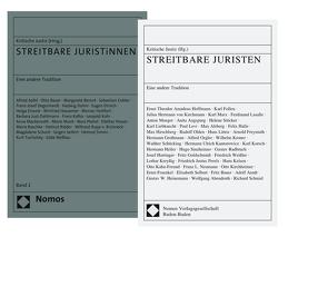 Paket STREITBARE JURISTiNNEN von Redaktion Kritische Justiz
