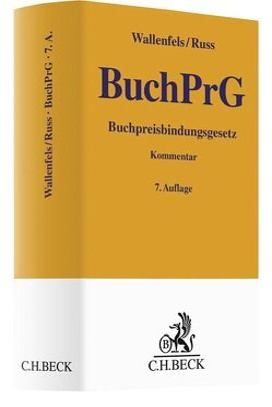 Buchpreisbindungsgesetz von Russ,  Christian, Wallenfels,  Dieter