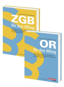 Buchset OR und ZGB von Bräunlich Keller,  Irmtraud, Christen,  Urs, Ruedin,  Philippe, Strub,  Patrick, von Flüe,  Karin