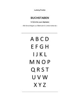 Buchstaben von Franke,  Ludwig