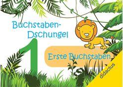 Buchstaben-Dschungel: Erste Buchstaben von Kompetenzteam didactus