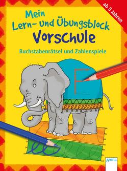 Buchstabenrätsel und Zahlenspiele von Heimrich,  Heike, Roth,  Lena, Thabet,  Edith, Woernle,  Hela
