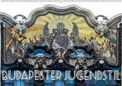 Budapester Jugendstil (Wandkalender 2019 DIN A2 quer)