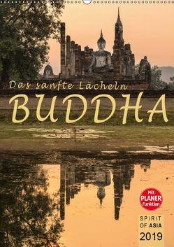 BUDDHA – Das sanfte Lächeln (Wandkalender 2019 DIN A2 hoch) von OF ASIA,  SPIRIT