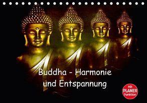 Buddha – Harmonie und Entspannung (Tischkalender 2018 DIN A5 quer) von Axon und Claudia Burlager,  Julia