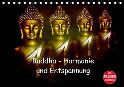 Buddha – Harmonie und Entspannung (Tischkalender 2019 DIN A5 quer) von Axon und Claudia Burlager,  Julia