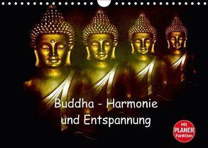 Buddha – Harmonie und Entspannung (Wandkalender 2018 DIN A4 quer) von Axon und Claudia Burlager,  Julia